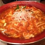 新潟 三宝亭 東京ラボ - 酸辣湯麺