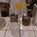 Curry House TIRI TIRI   - 卓上の様子
