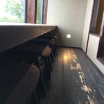 しょこら亭 - カウンター席