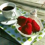 いちごカフェ - イチゴセット