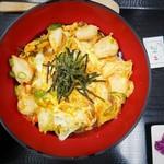 鳥響 - 京赤地どり・ぼんじりと九条ねぎの親子丼