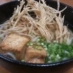 tenukiudommarushin - ・ごぼ天うどん 430円 揚げだし豆腐はサービス