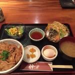 70877153 - スタミナ丼定食。1000円。