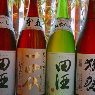 〼◆豊富な日本酒◆〼