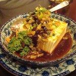 蜀食成都 - ザーサイピータン豆腐