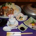 石かわ - 料理写真:鍋会席かにすき 4,200円