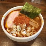 麺処 井の庄 - 辛辛魚ラーメン