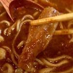 麺処 井の庄 - コリコリのメンマ