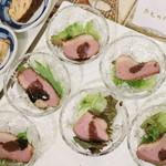トルコ料理&地中海料理メッゼ - 鴨肉