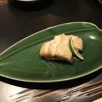 北新地  松庵 - 鰻の白焼き