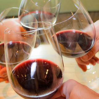 各種グラスワインをご用意しています!