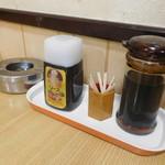 長野屋食堂 - テーブル上