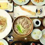蕎麦と天ぷら みくりや