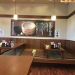 丸亀製麺 - 座敷席エリア