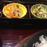 鉄板ステーキ ろく丘 - ●熟成厚切り牛タン焼き+御膳セット 1922円