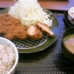 ごはん処 かつ庵 - 今日の夕食
