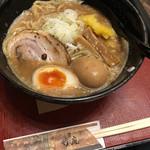 麺匠 竹虎 - ゆず魚介豚骨ラーメン+味玉