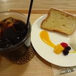 グッドニュースカフェ - ふんわりシフォンケーキセット