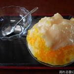 塔尾茶屋 - 料理写真:かき氷(マンゴーミルク)