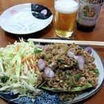 タイレストラン リナ - ラーム(\900)です 豚肉のほかにレバーや豚皮も入ってます