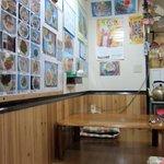 タイレストラン リナ - 小上がり席もあります ハシとティッシュは壁に備え付け