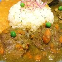 ペルー料理 ロミーナ - Seco con frijoles 牛肉の柔らかコリアンダー煮込み アンデス魅惑の味