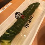 70890186 - 胡瓜一本漬け300円