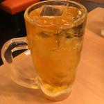串カツあらた - 緑茶 お酒入っていません。」