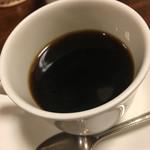70891250 - ランチタイムについてくる食後のドリンク。安定のホットコーヒー