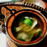 70892039 - 松茸の土瓶蒸し