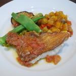 オーソレイユ クーシャン - 本日の魚(金目鯛)料理