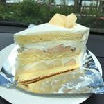 ペーパームーン - フレッシュピーチショートケーキ