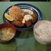 キッチン こあっと - 料理写真:「カキフライ定食」です。