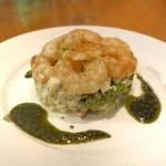ポンペット - エビと夏野菜のタルタル