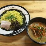 万力屋 - 辛ネギ味噌つけ麺