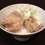 万力屋 - 唐揚丼
