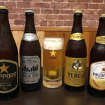 万力屋 - ビール