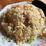 大蓮 - セットの炒飯を大盛り セットなので大盛りでも普通盛りくらい?