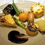 炭火割烹 蔓ききょう - お奨め!焼き野菜 10種