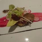 ル・モノポール - 鴨肉のパテドカンパーニュ