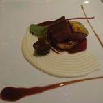 ル・モノポール - 黒毛和牛のフィレ肉のポワレ ソースヴァンルージュ