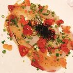 天然ブリの和風海鮮カルパッチョ