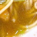 煮干し豚骨らーめん専門店 六郷 - 煮干し100%スープ