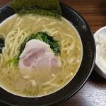 70898453 - 太麺+ライス