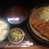 てらうち - 料理写真:ロースかつ定食 850円
