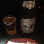 てらうち - 瓶ビール 中 550円