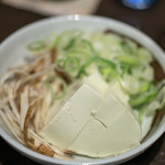 藤吉 - 2017.7 枝豆豆腐、ネギ、ゴボウ