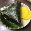 赤のれん - 料理写真:むすび 海苔も美味い