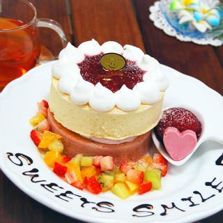 【今月のパンケーキ】8月はラズベリーパンケーキ