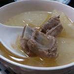 喜来楽 - ・冬瓜とスペアリブのスープ
